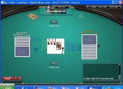 Big poker games