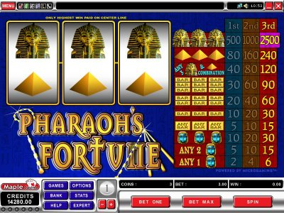 casino city online pharaoh s